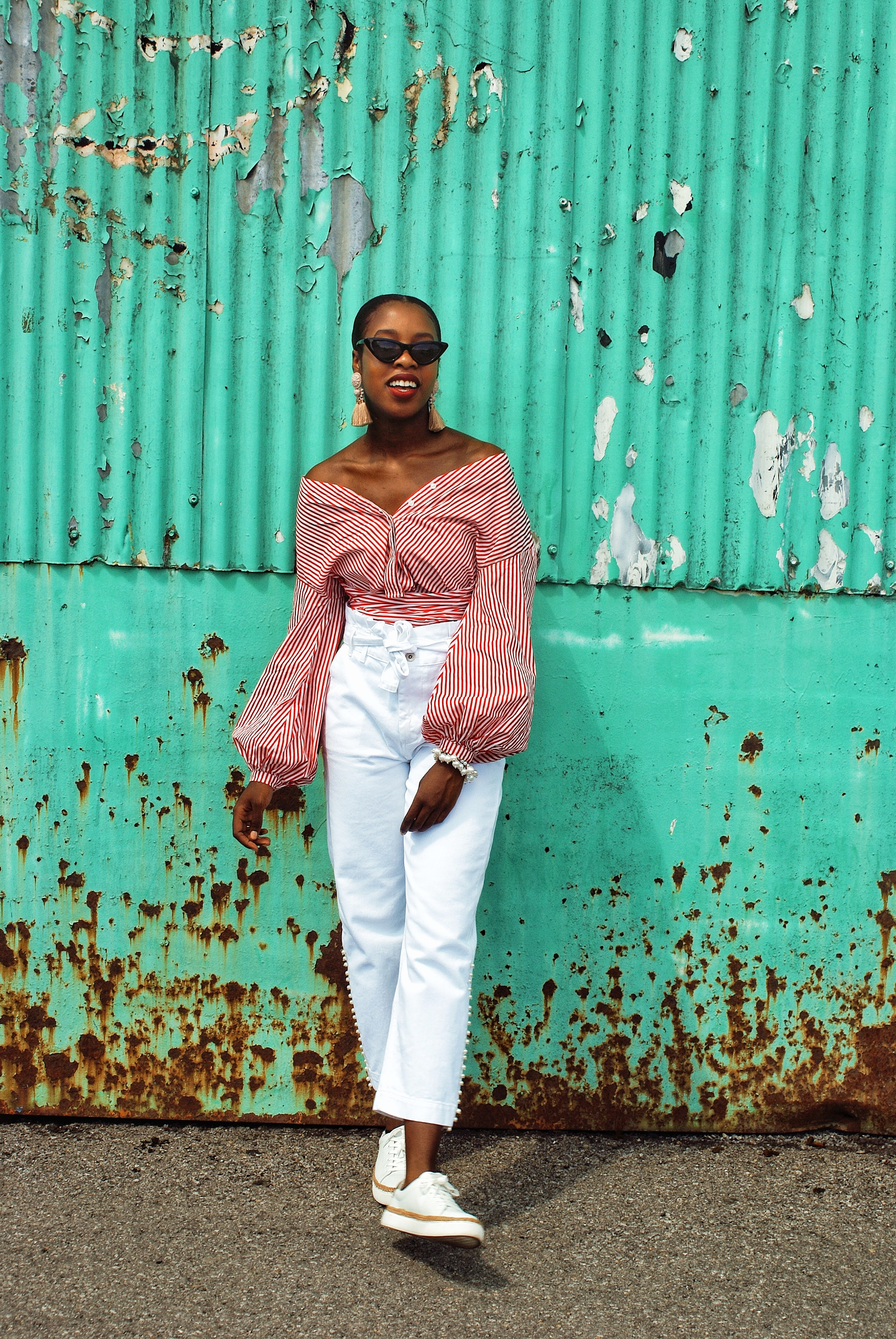How to style the wrap blouse – But I'm not a (w)rapper